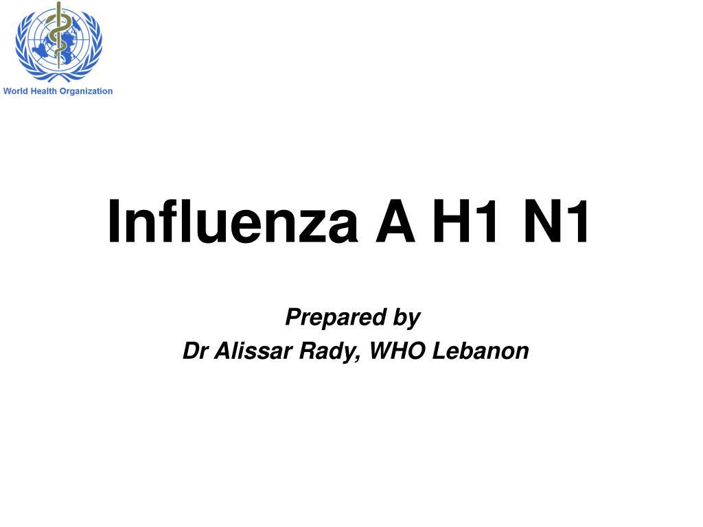 influenza a h1 n1 l.