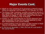 major events cont13