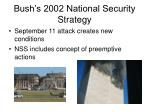 bush s 2002 national security strategy