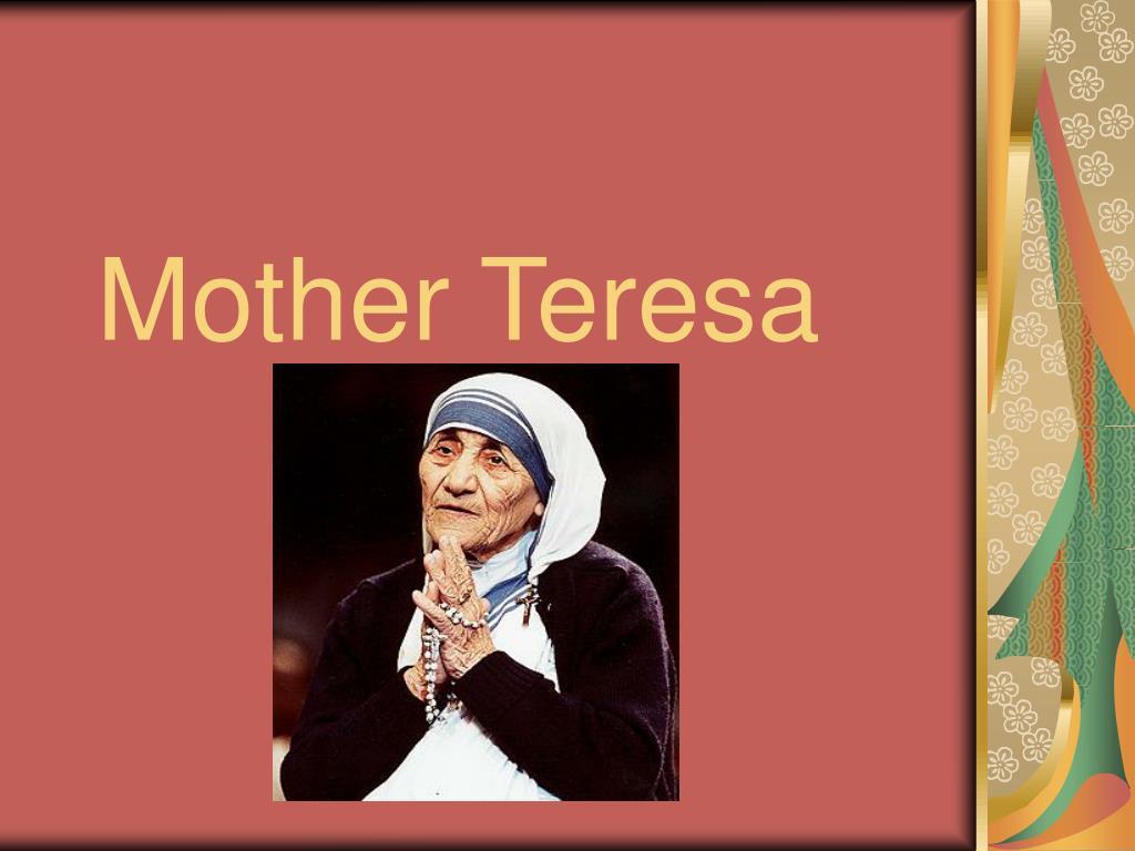 mother teresa l.
