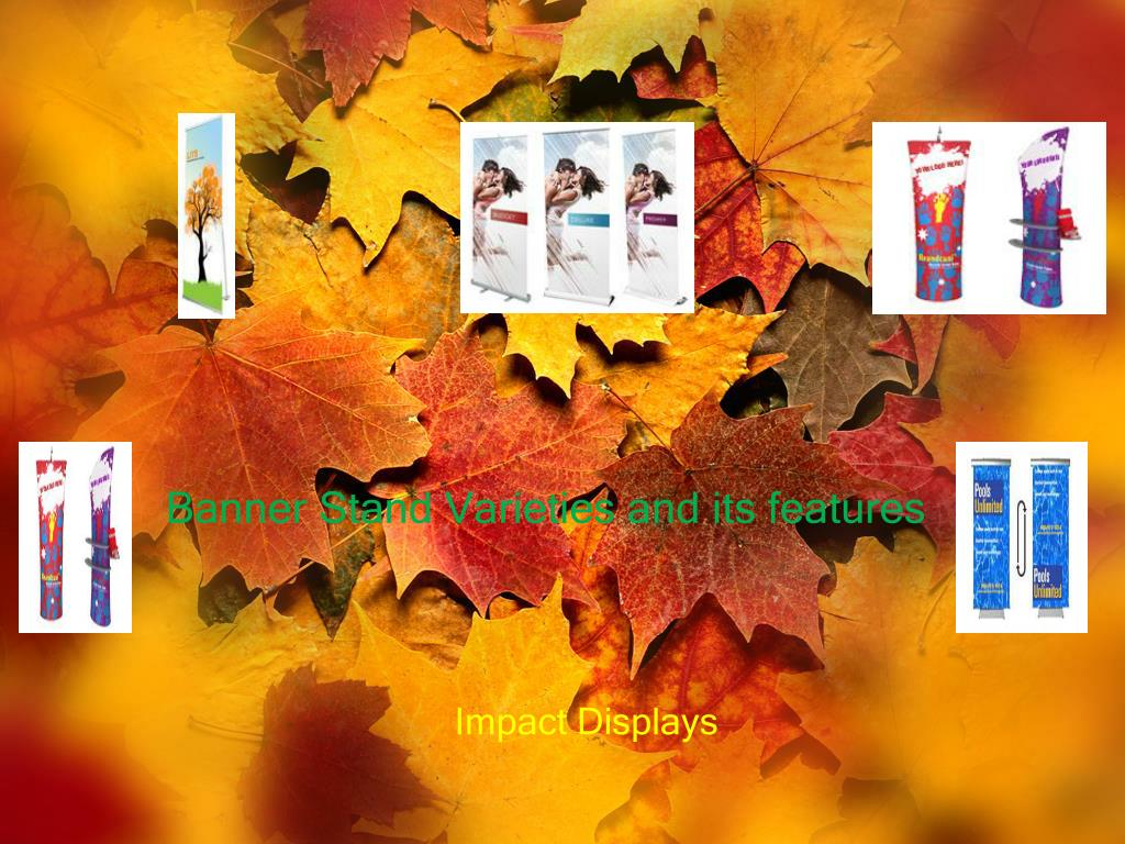 banner stand varieties and its features l.