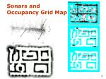 sonars and occupancy grid map
