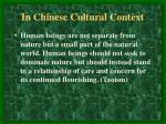 in chinese cultural context12