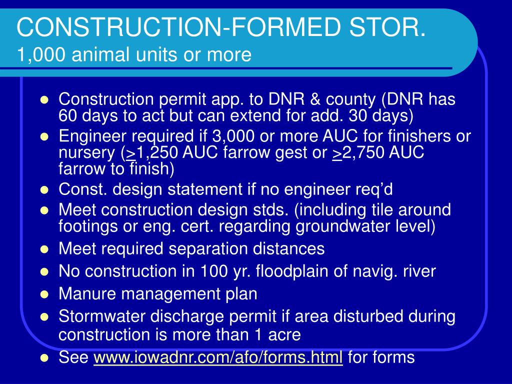 CONSTRUCTION-FORMED STOR.