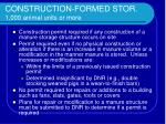 construction formed stor 1 000 animal units or more13