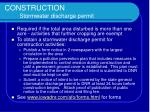 construction stormwater discharge permit