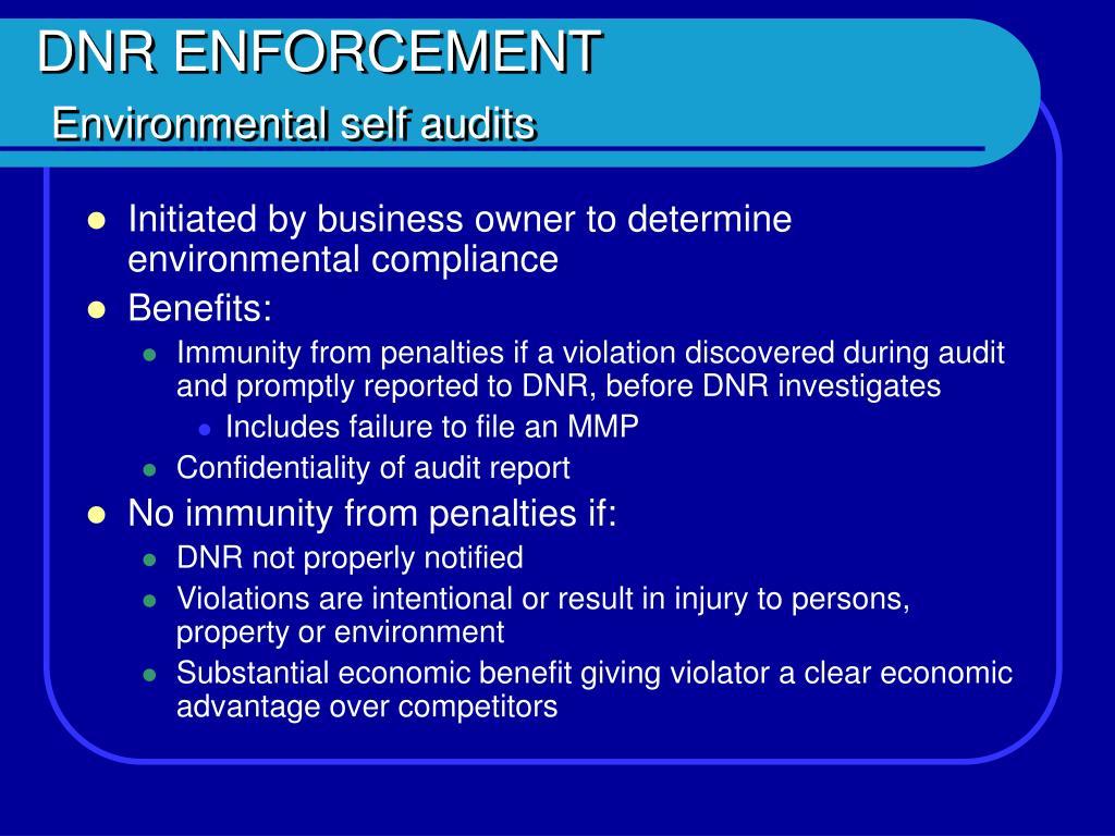 DNR ENFORCEMENT