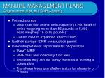 manure management plans original new filed with dnr county