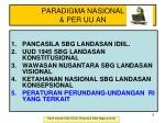 paradigma nasional per uu an