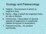 ecology and paleoecology13
