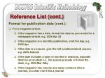 reference list cont39