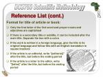 reference list cont40