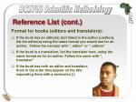 reference list cont45