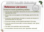 reference list cont46