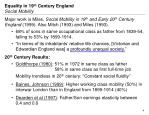 equality in 19 th century england social mobility