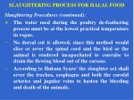 slaughtering process for halal food14