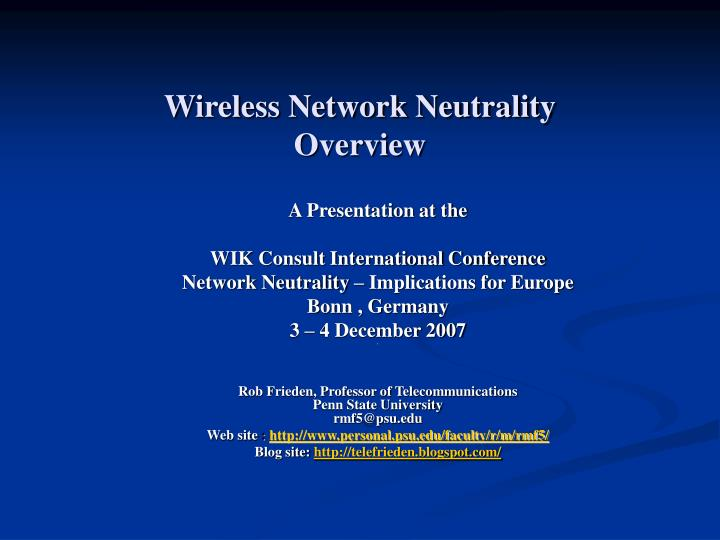 network neutrality essay This free information technology essay on network neutrality is perfect for information technology students to use as an example.