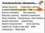 constructivist elements
