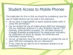 student access to mobile phones21