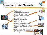 constructivist trends