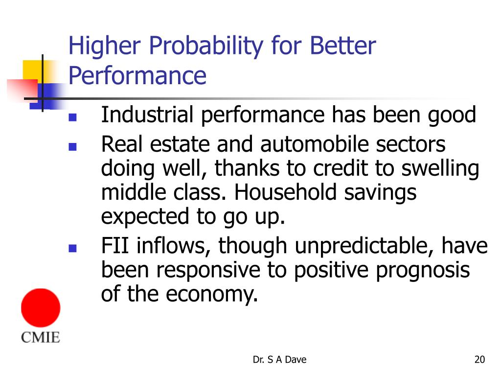 Higher Probability for Better Performance