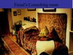 freud s consulting room