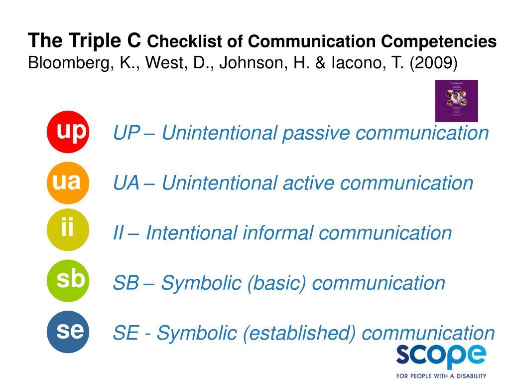 The Triple C