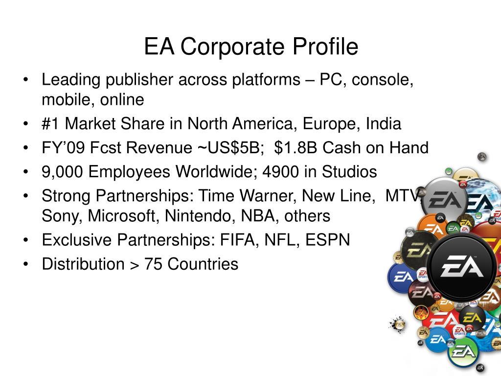 EA Corporate Profile