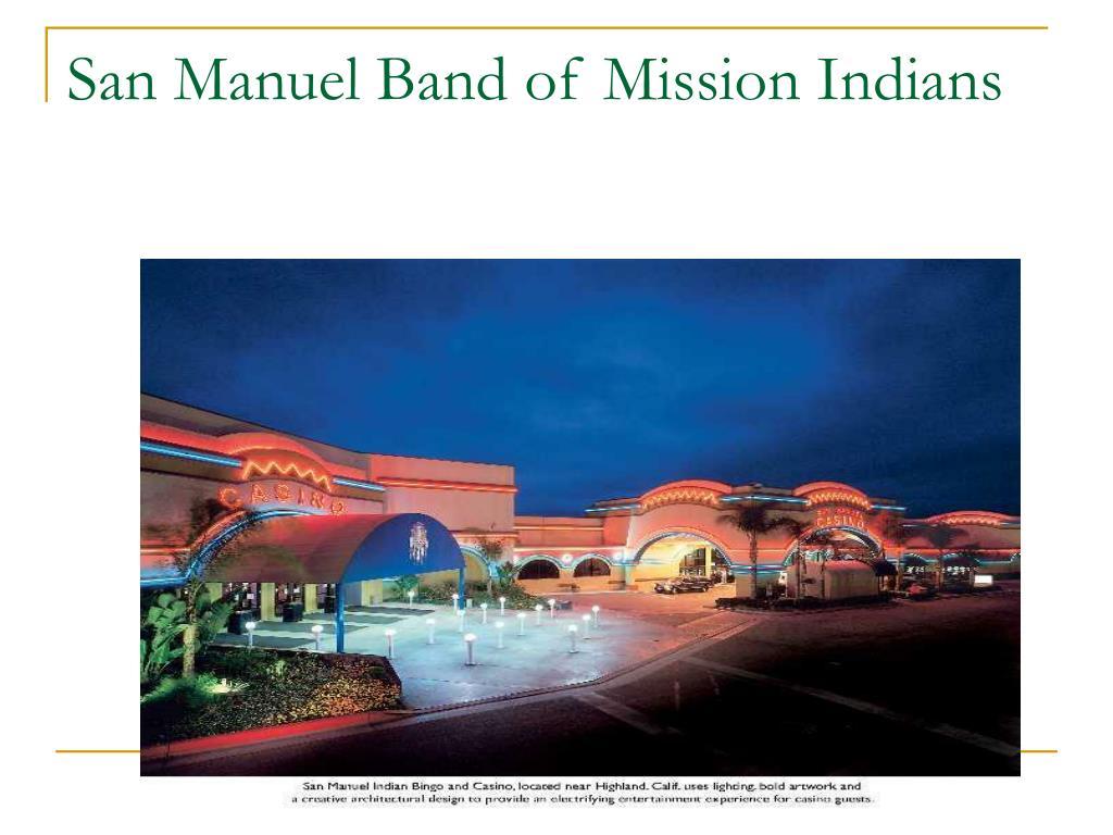 san manuel band of mission indians l.