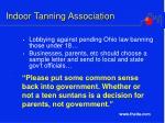 indoor tanning association