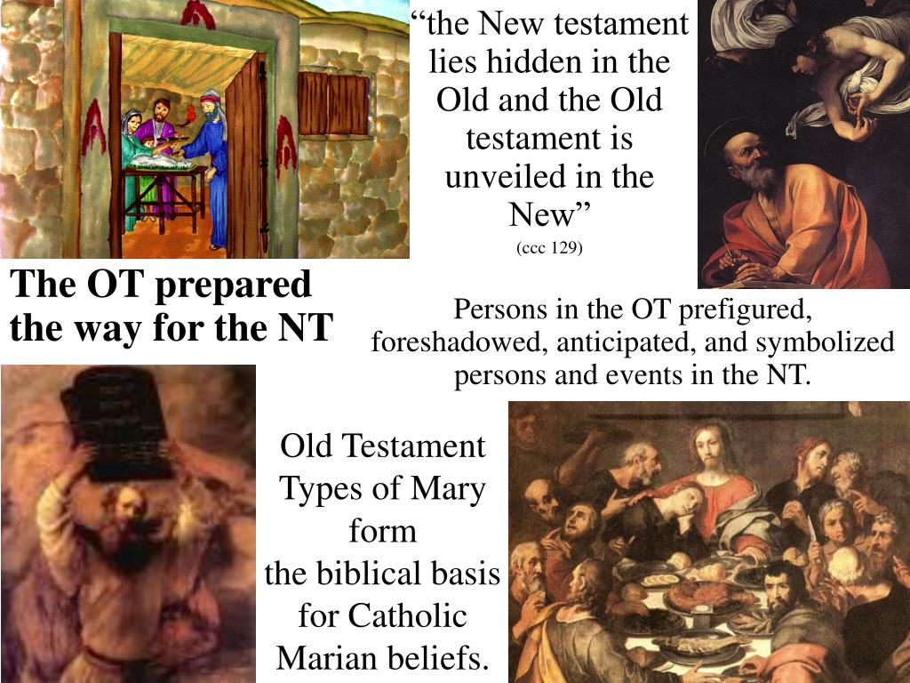 old testament types of mary form the biblical basis for catholic marian beliefs l.