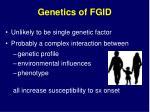 genetics of fgid