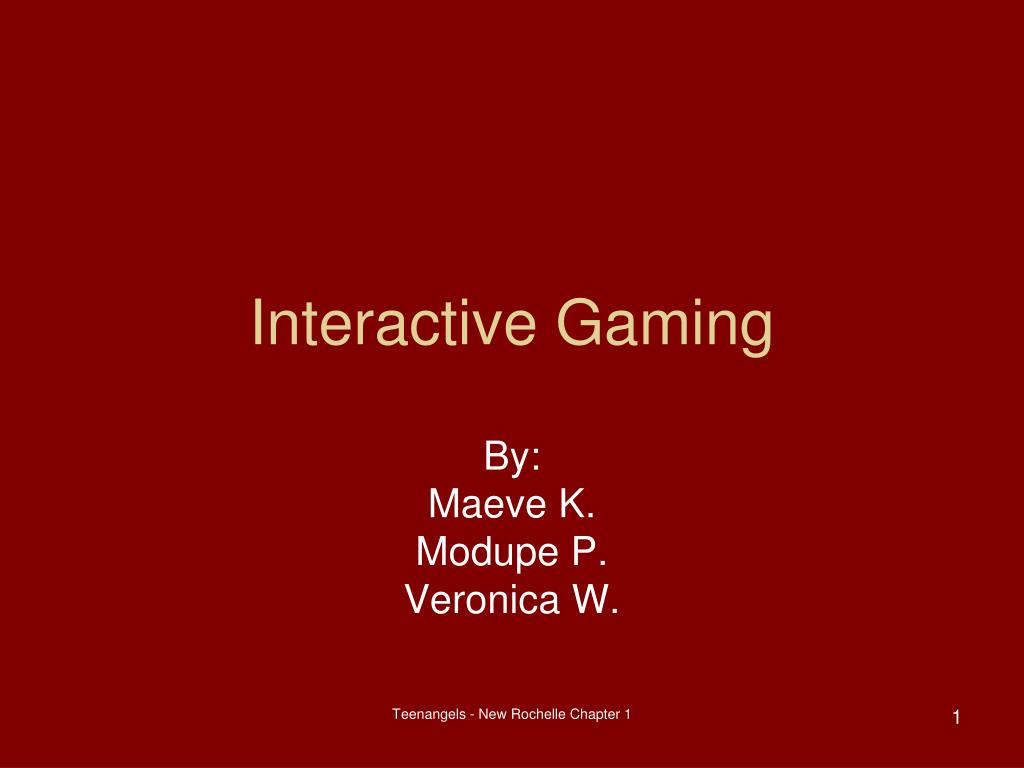 interactive gaming l.