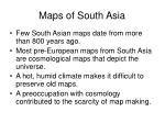 maps of south asia