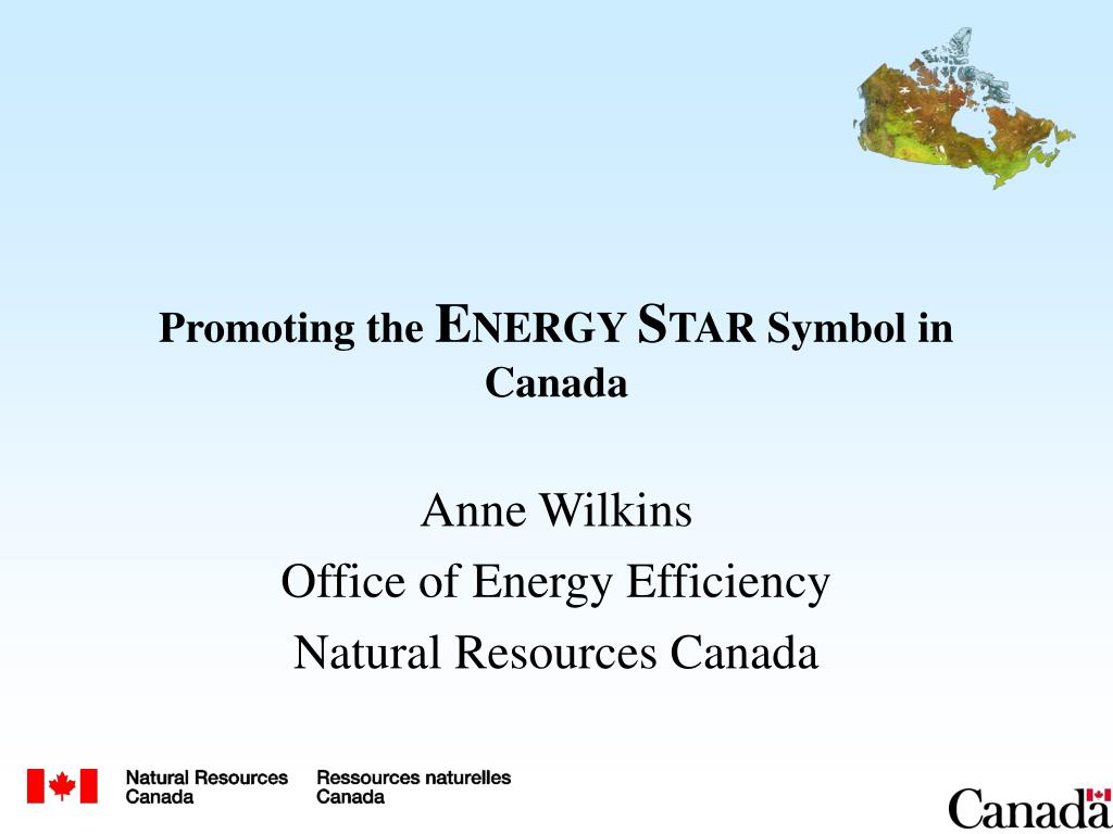promoting the e nergy s tar symbol in canada l.