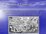 4 th sunday of easter c
