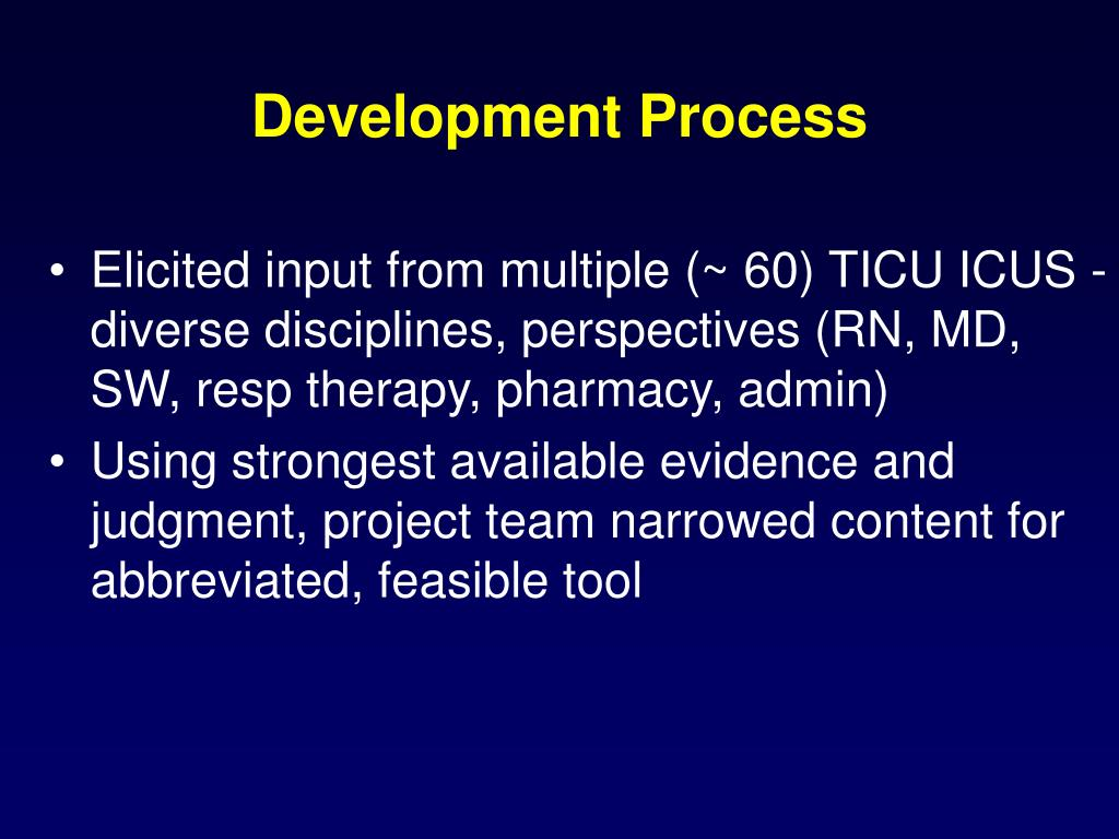 Development Process