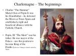 charlemagne the beginnings