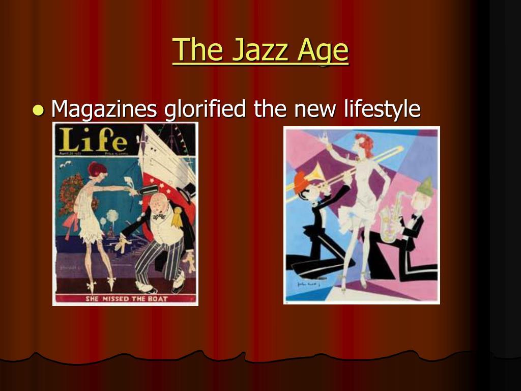 the jazz age