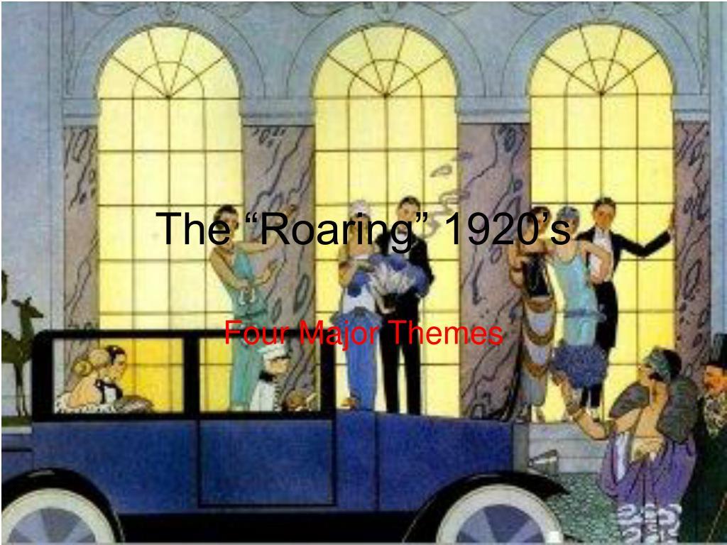 the roaring 1920 s l.