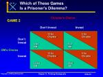 which of these games is a prisoner s dilemma20