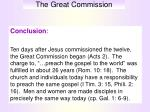 the great commission14