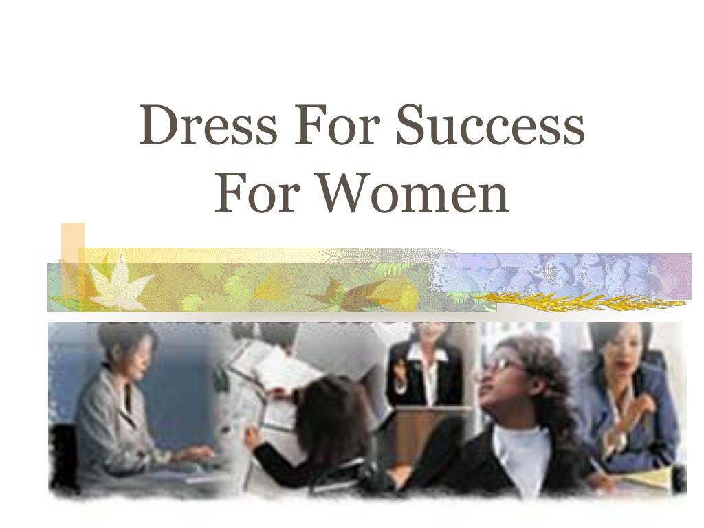 dress for success for women l.