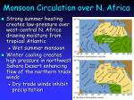 monsoon circulation over n africa