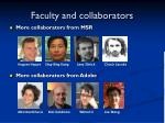 faculty and collaborators5