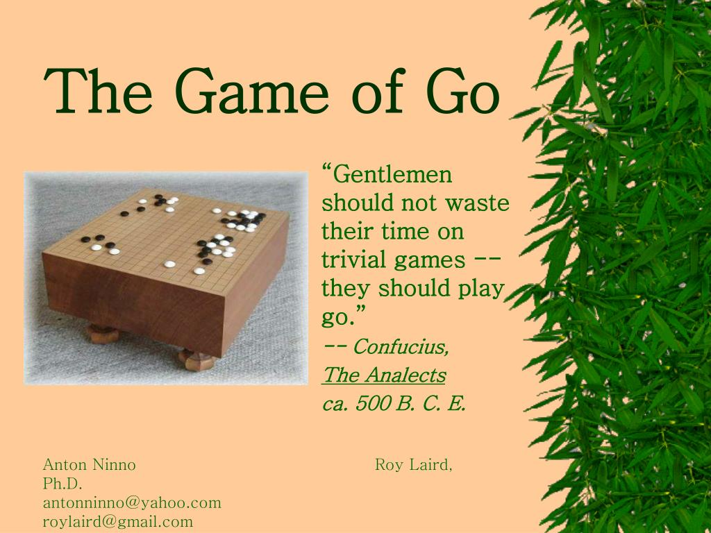 the game of go l.