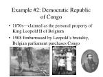 example 2 democratic republic of congo