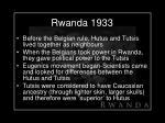 rwanda 1933