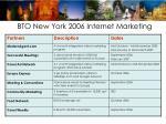 bto new york 2006 internet marketing