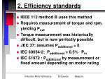 2 efficiency standards8